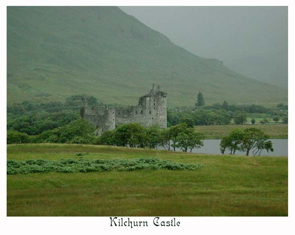 Kilchurn Castle, ruins of a Campbell stronghold