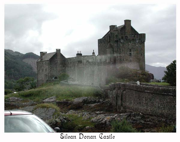 "Eilean Donan, the castle used in ""The Highlander"" movie"