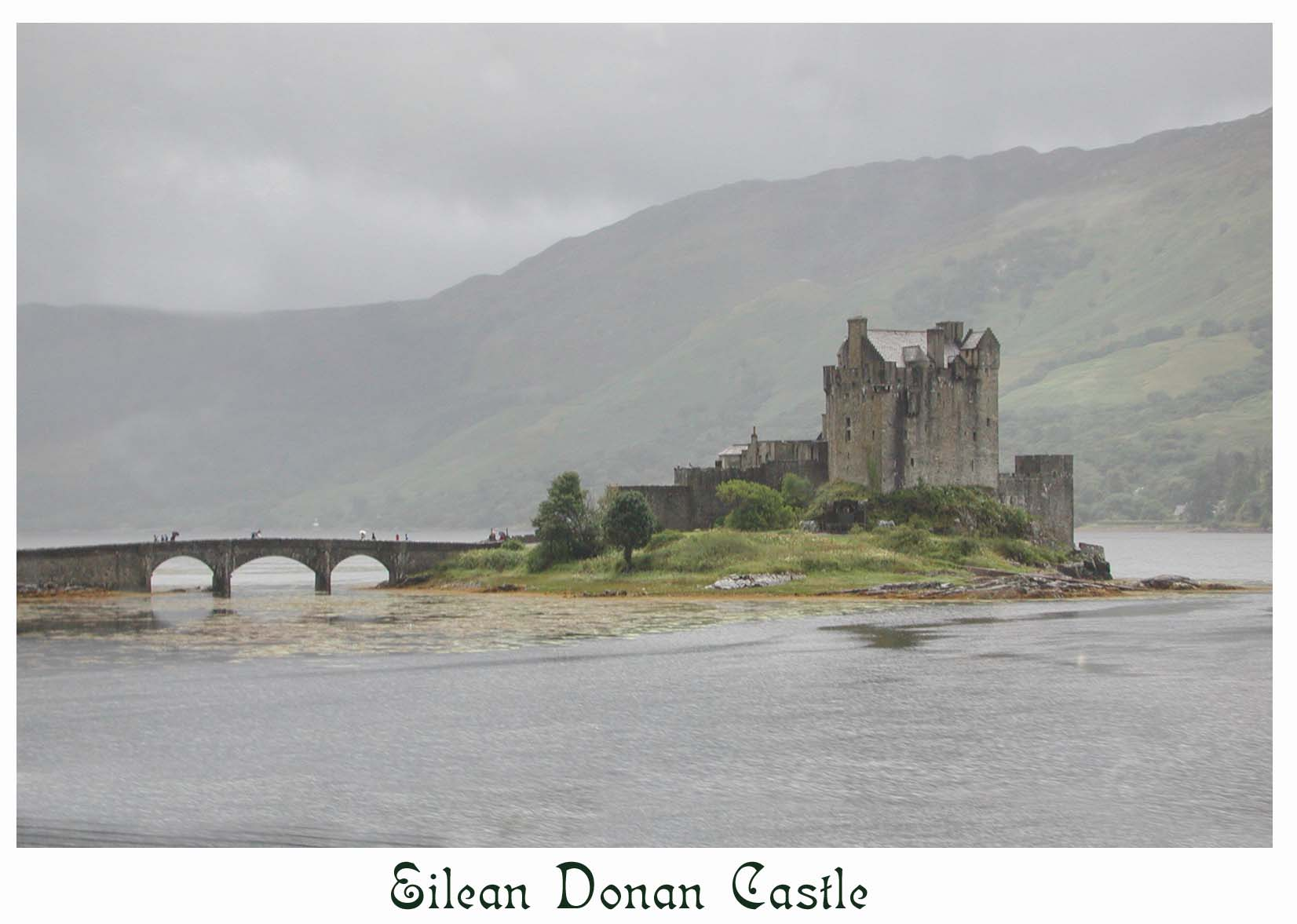 """The Highlander"" movie castle"
