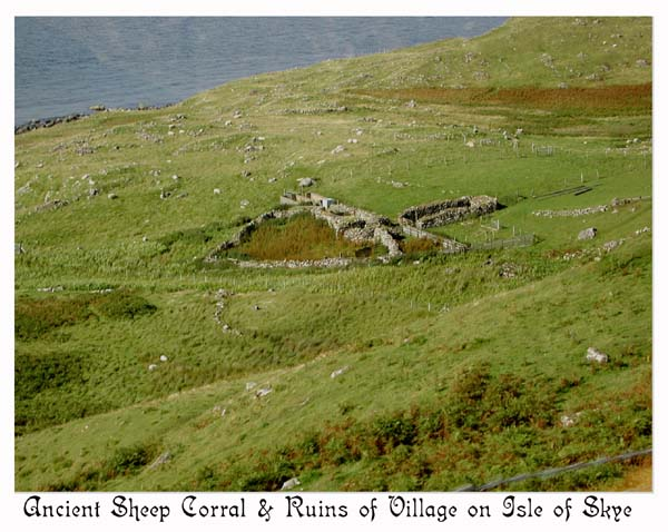 Village razed during the Highland Clearances