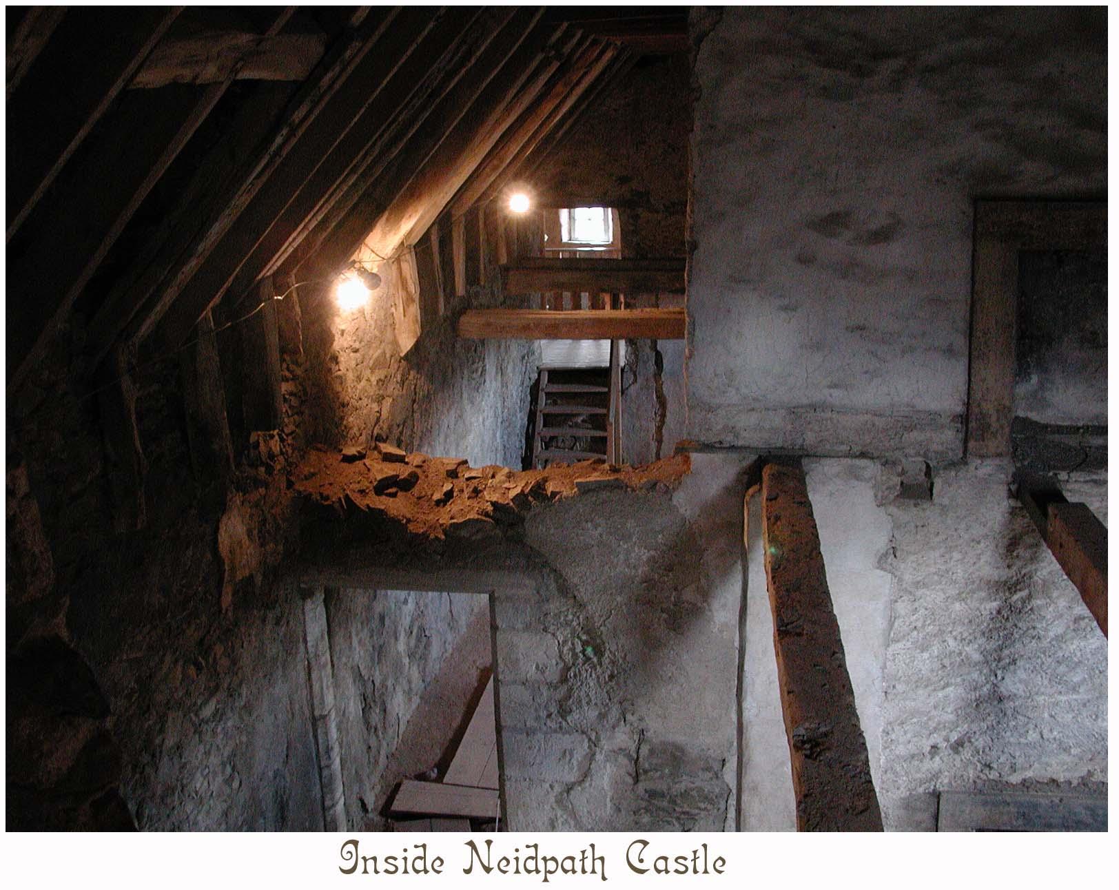 Neidpath is still under restoration (third level flooring missing).