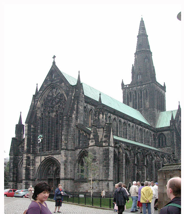 Beautiful old church in Glasgow.